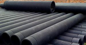 Ống HDPE gân xoắn hai lớp (ống HDPE gân thành đôi)